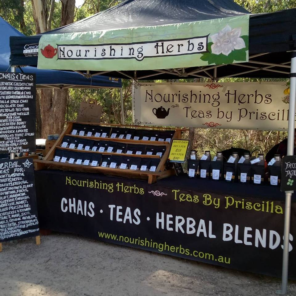 Nourishing Herbs stall