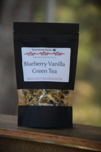 Blueberry Vanilla Green Tea